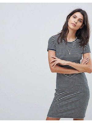 Abercrombie & Fitch Stripe T Shirt Dress