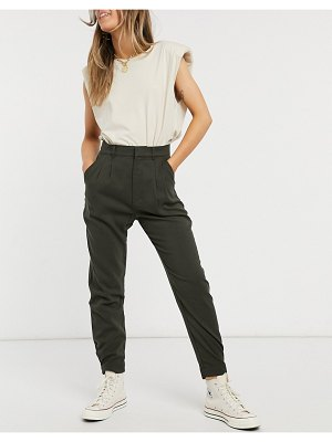 Abercrombie & Fitch utility cargo pants in black