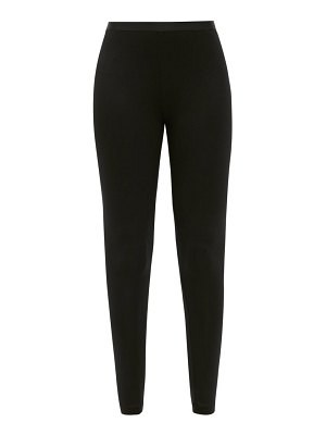 About high-rise jersey leggings