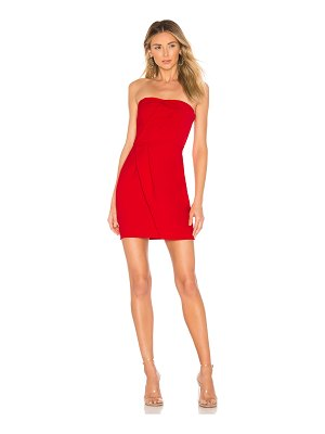 About Us Alexandra Strapless Mini Dress