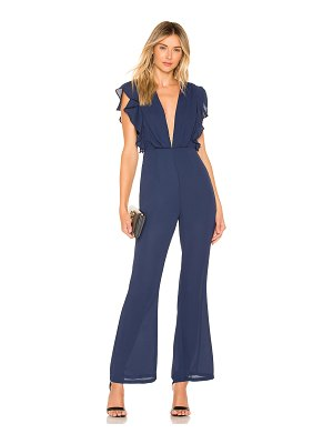 About Us Arina Ruffled Jumpsuit