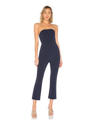 About Us Collins Strapless Jumpsuit