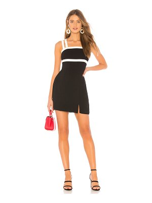 About Us Daisy Double Strap Contrast Mini Dress