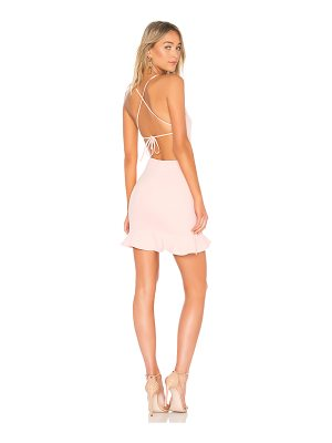 About Us Darlah Tie Back Frill Dress