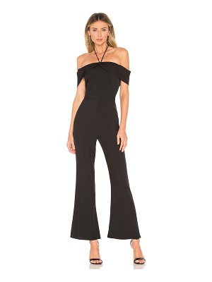 About Us Eliza Off Shoulder Jumpsuit