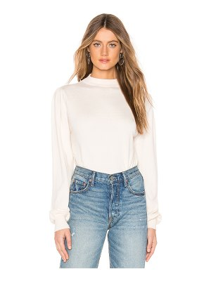 About Us emma puff sleeve sweater