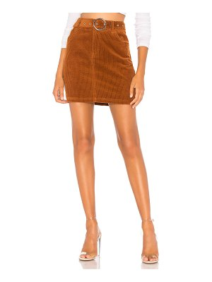 About Us Jenny Belted Mini Skirt