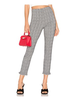 About Us josephine plaid ruffle pants