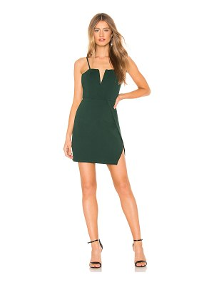 About Us josie wrap mini dress