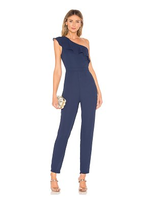 About Us Krystal One Shoulder Jumpsuit