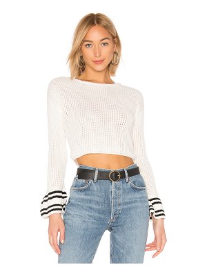 About Us kyla bell sleeve sweater