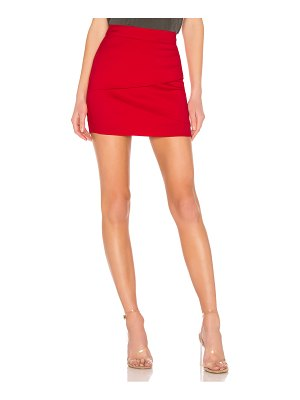 About Us Solice Wrap Mini Skirt