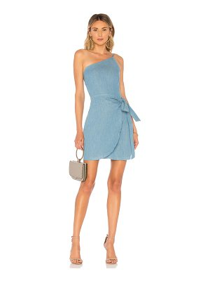 About Us Wendy One Shoulder Tie Dress