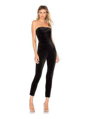 About Us Xandra Velvet Jumpsuit