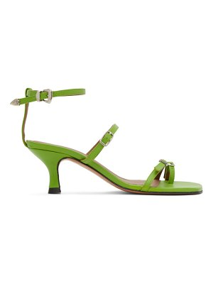 Abra buckle heeled sandals