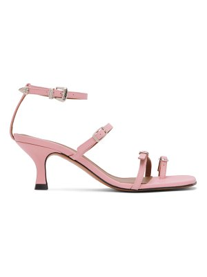 Abra ssense exclusive  buckle heeled sandals