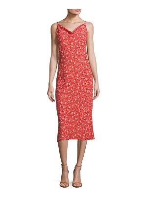 ABS by Allen Schwartz Midi Floral Slip Dress