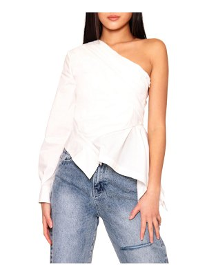Absence of Colour diana one-shoulder shirt