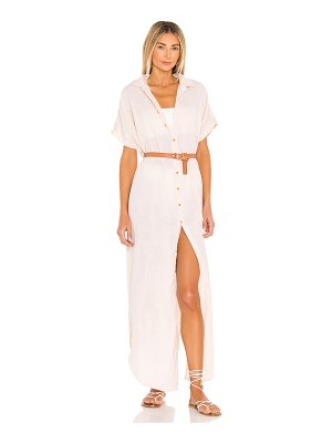 Acacia oahu cotton gauze dress