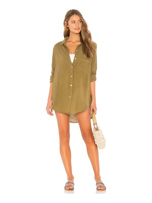 ACACIA SWIMWEAR Milos Button Up Dress
