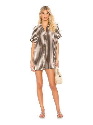 ACACIA SWIMWEAR Mombasa Shirt Dress