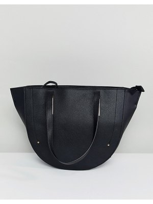 Accessorize structured winged tote bag