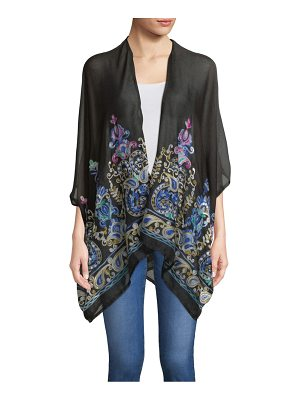 Accessory Street Moroccan Embroidered Coverup