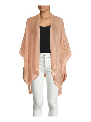 Accessory Street Paisley Lace Cover-Up
