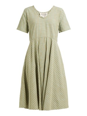ace & jig luella striped cotton dress