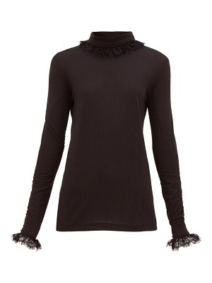 Àcheval Pampa escalda roll-neck ribbed jersey top