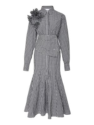 Acler angwin long sleeve dress