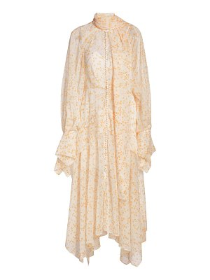 Acler cathedral midi dress