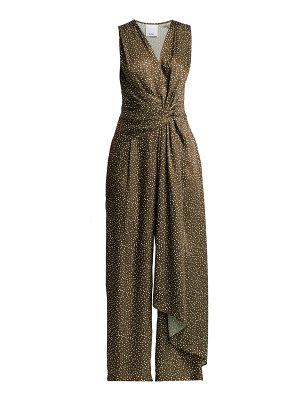 Acler doheny dotted jumpsuit
