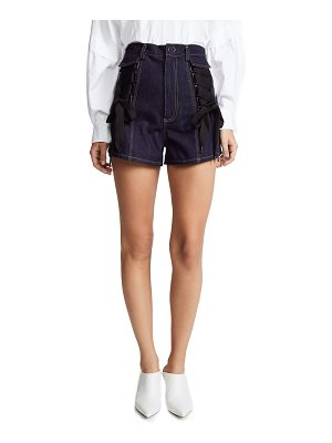Acler tenby denim shorts