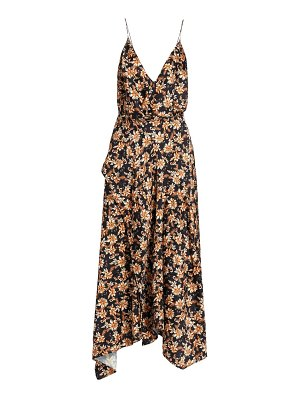 Acler vales floral midi dress