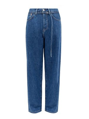 Acne Studios 1991 toj belted high-rise straight-leg jeans