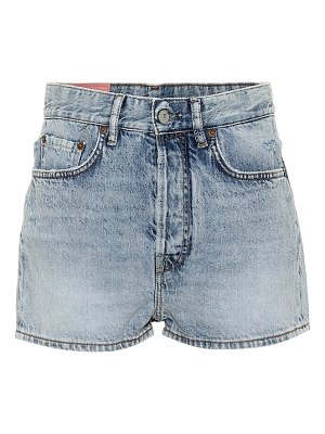 Acne Studios Blå Konst Swamp denim shorts