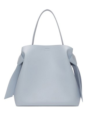 Acne Studios blue maxi musubi bag