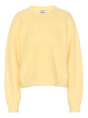Acne Studios brushed cotton-blend sweater