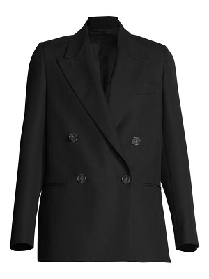 Acne Studios double-breasted wool-blend jacket
