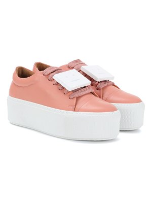 Acne Studios drihanna nappa leather platform sneakers