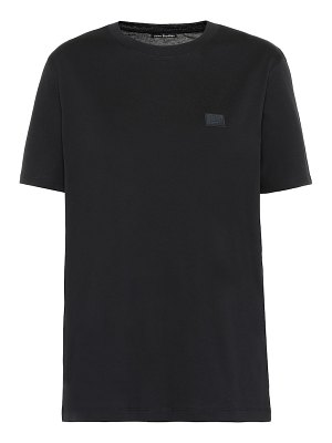 Acne Studios face cotton-jersey t-shirt