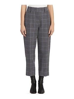 Acne Studios glossy check trousers