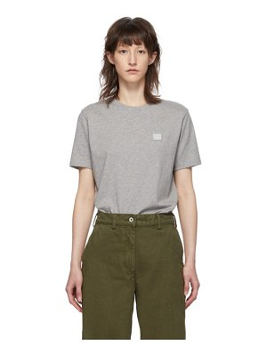 Acne Studios grey ellison face t-shirt