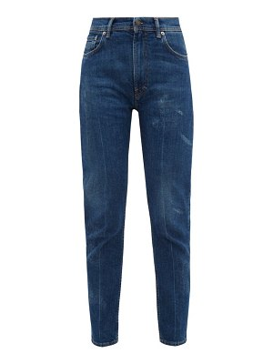 Acne Studios melik high rise tapered jeans