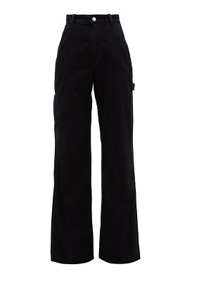 Acne Studios munro high-rise wide-leg jeans
