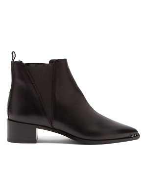 Acne Studios jensen pointed leather chelsea boots