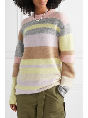 Acne Studios kalbah striped knitted sweater