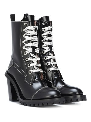 Acne Studios lace-up leather ankle boots
