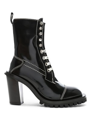 Acne Studios leather lace up boots